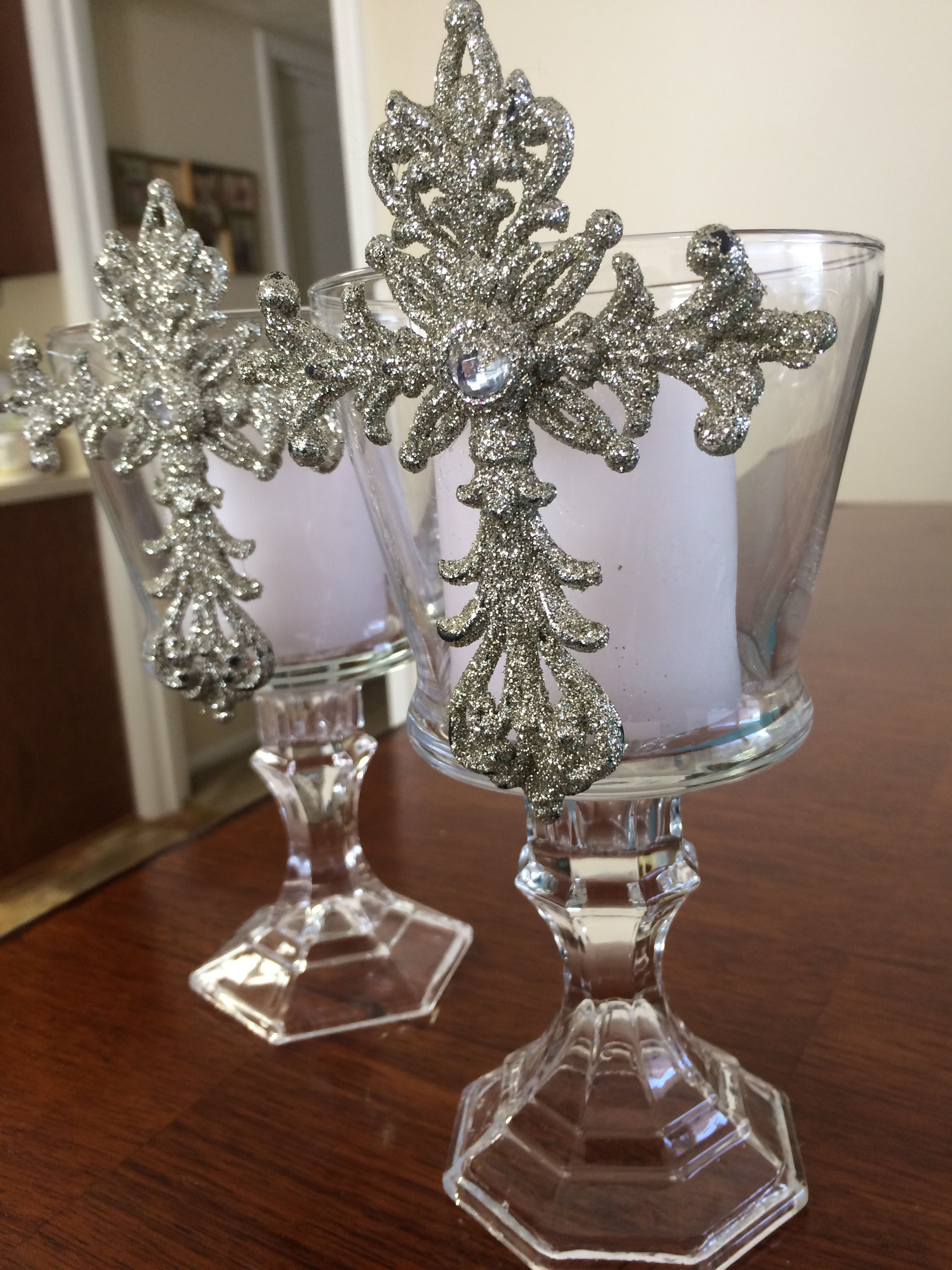 Dollar Tree Baptism First Communion Confirmation Center Pieces Cheap And Easy My Diy