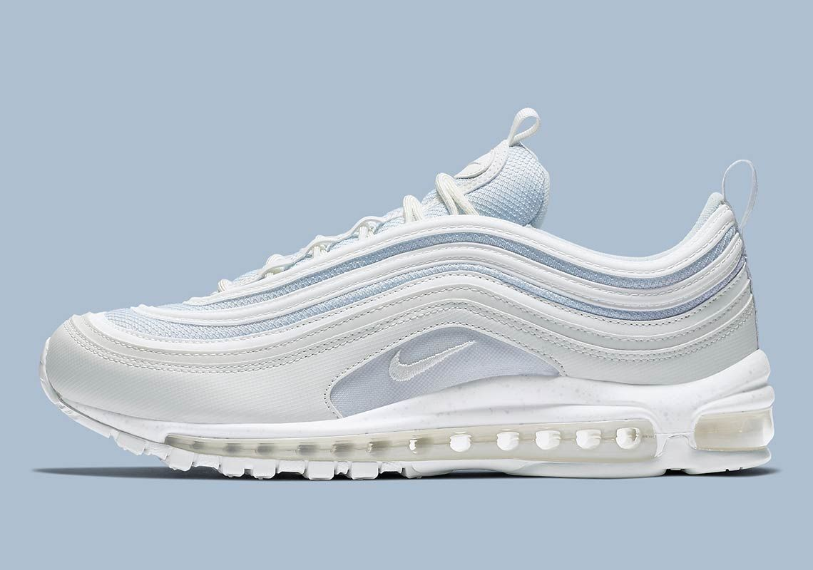 This Nike Air Max 97 Is Tinted In Light Blue | Blue air max
