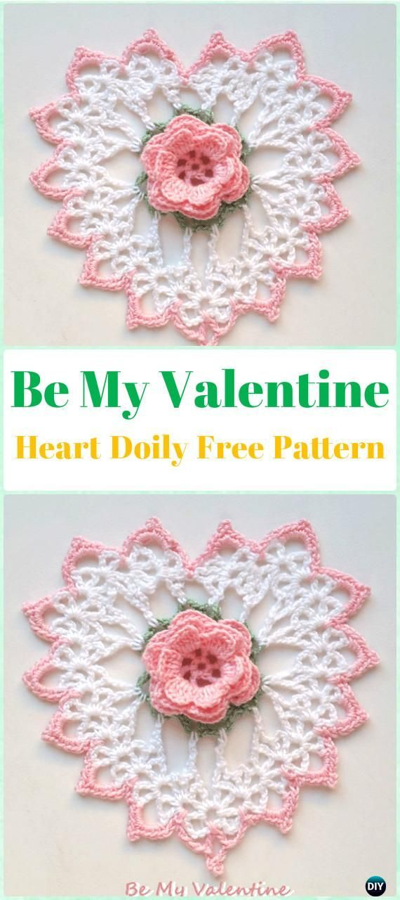 Crochet Doily Free Patterns & Instructions | Crochet doilies, Free ...