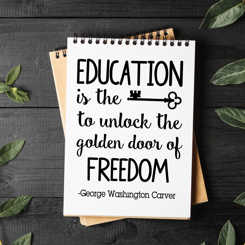 Svg Files Education Is The Key To Unlock The Golden Door