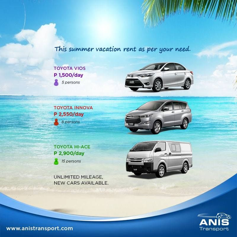 Anis Transport Is Offering The Best Car Rental Deals For This Summer