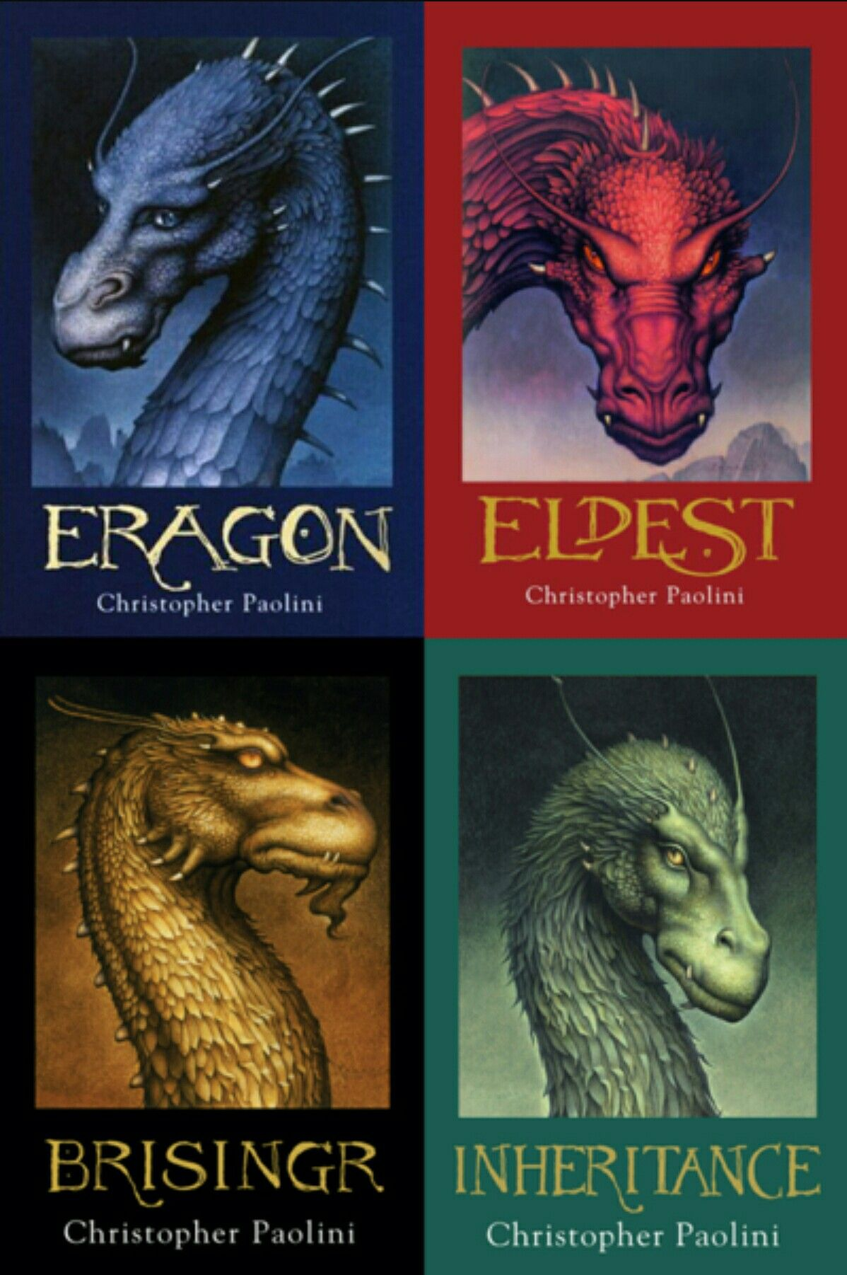 Christopher Paolini and his books