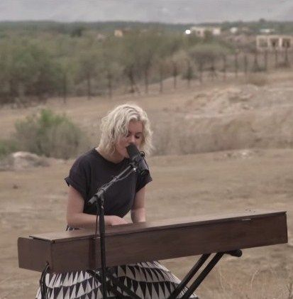 Taya Smith In Israel Of Dirt And Grace Hillsong United
