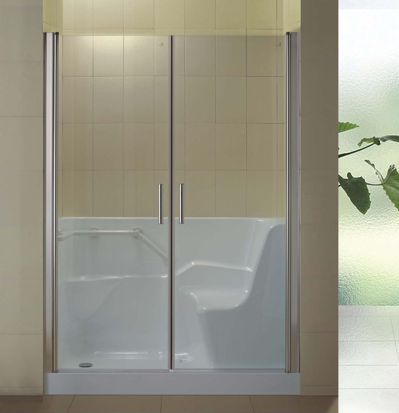 New Shower Room For Old Or Disable People (L 391)