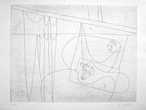Le Corbusier (1887-1965) Naissance du Minotaure II 1964