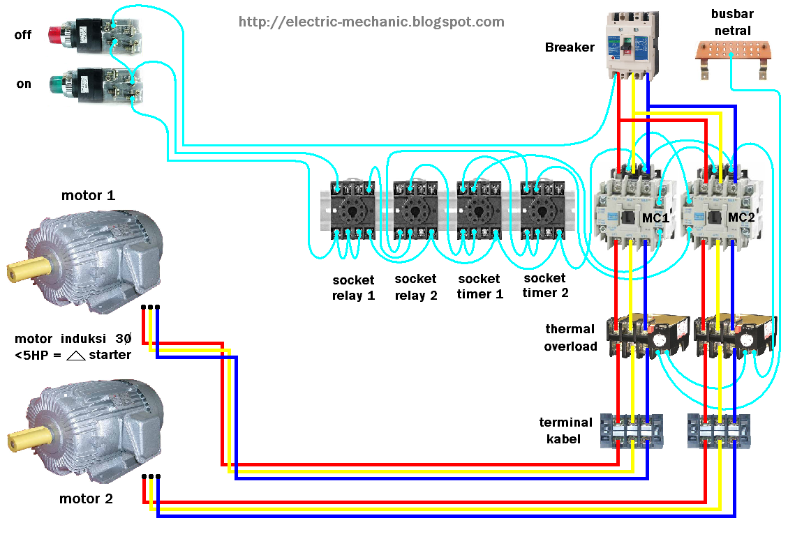 Amazing overload relay wiring contemporary electrical and wiring industrial control motor overload protection electrikals asfbconference2016 Image collections