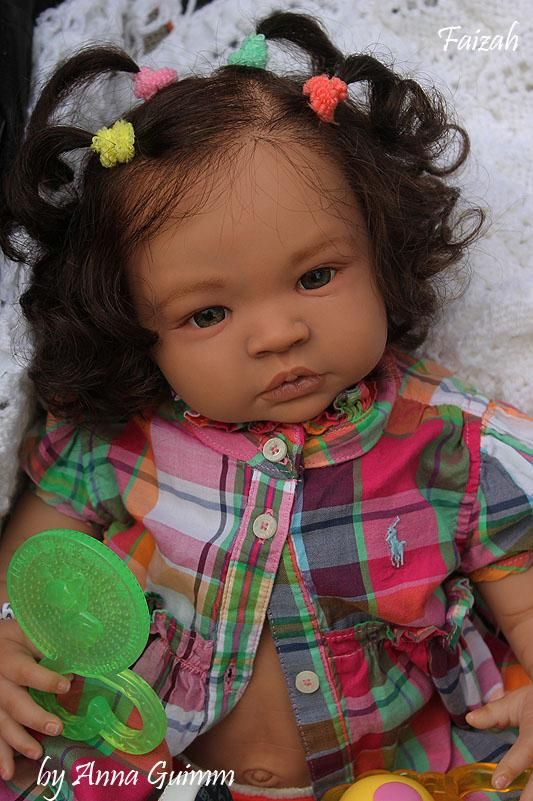 So Real Reborn 22baby Doll Aa Biracial Ethnic Shyann