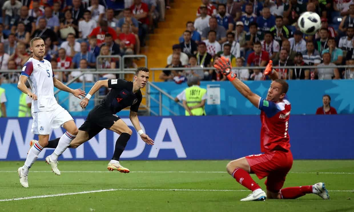 Iceland Bow Out Of World Cup After Defeat By Croatia In Final Group Game Croatia World Cup Fifa World Cup