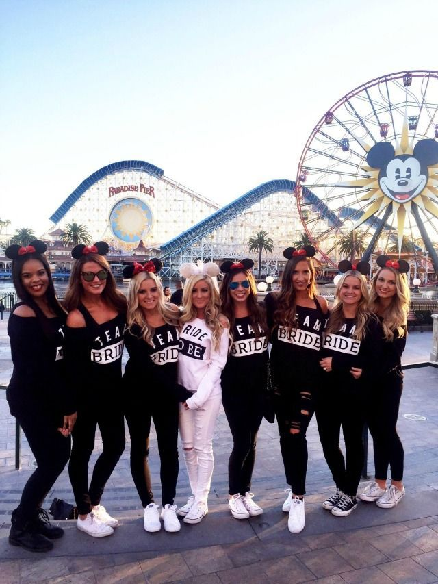 Mallorys Disneyland Bachelorette Party