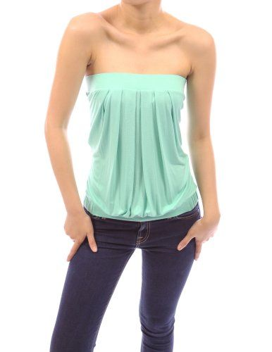 1df51220bc Save  1.99 on PattyBoutik Sexiest Strapless Pleated Bust Clubwear Party Tube  Top  only  25.00