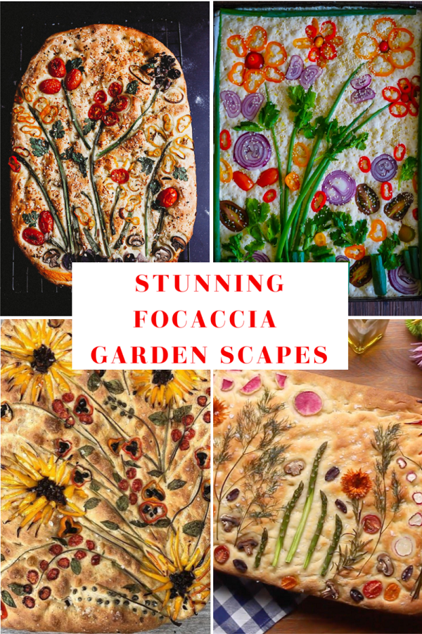 Photo of Garden Focaccia is the Trend Taking Over the 'Gram One  Freshly-Baked Flower Loaf at a Time