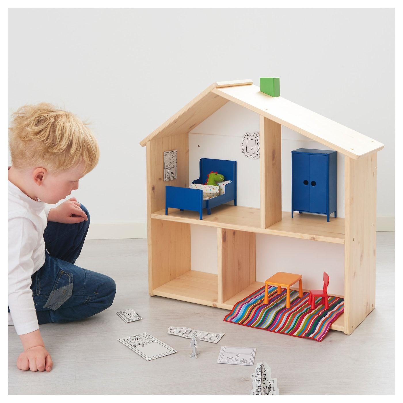 Huset Puppenmobel Schlafzimmer Ikea Deutschland In 2020 Doll Furniture Kids Bedroom Furniture Diy Furniture Bedroom