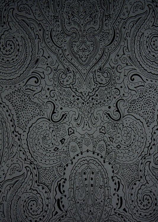 Vaujours Paisley Wallpaper Paisley Wallpaper Designer
