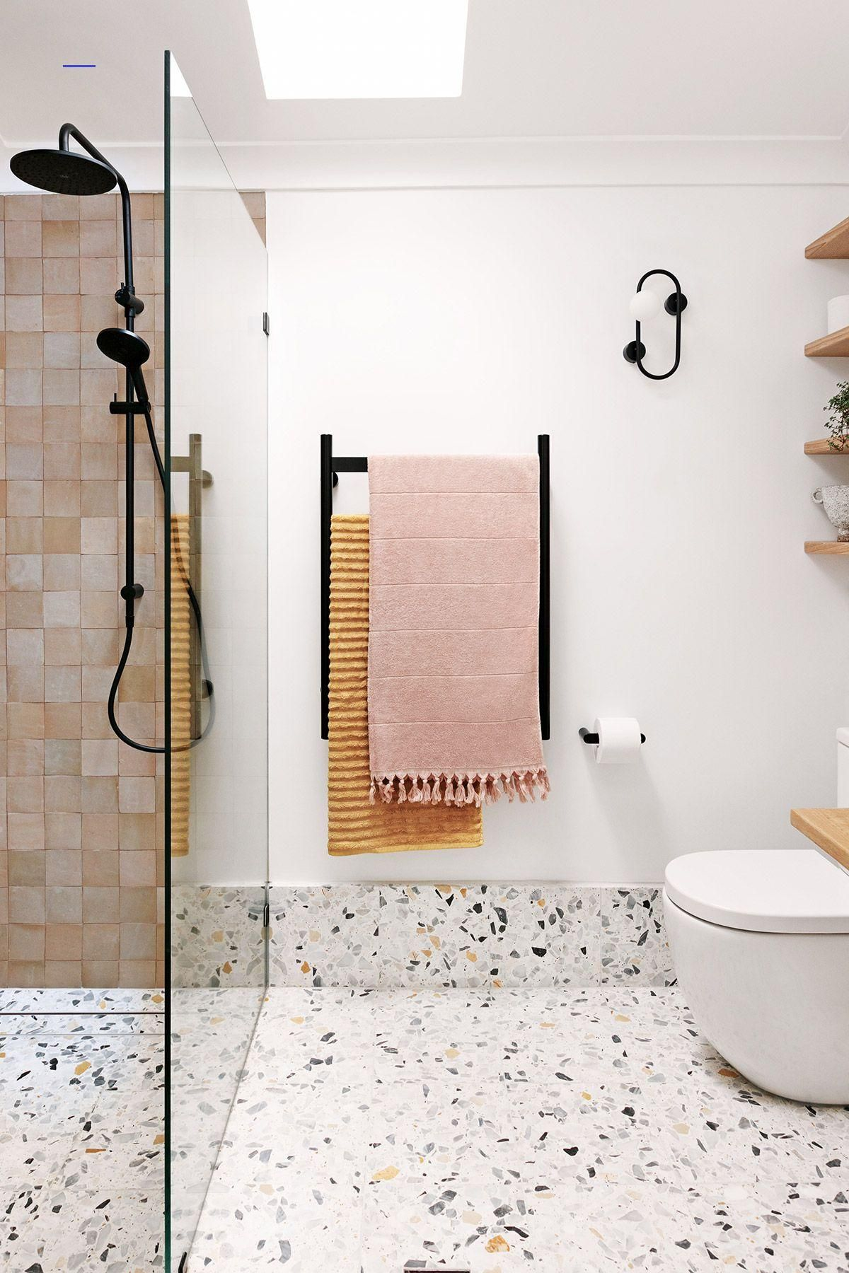 My Bathroom Renovation It S All About Terrazzo And Moroccan Tiles We Are Scout Bathroo In 2020 Bathroom Renovation Bathroom Interior Design Bathroom Renovations