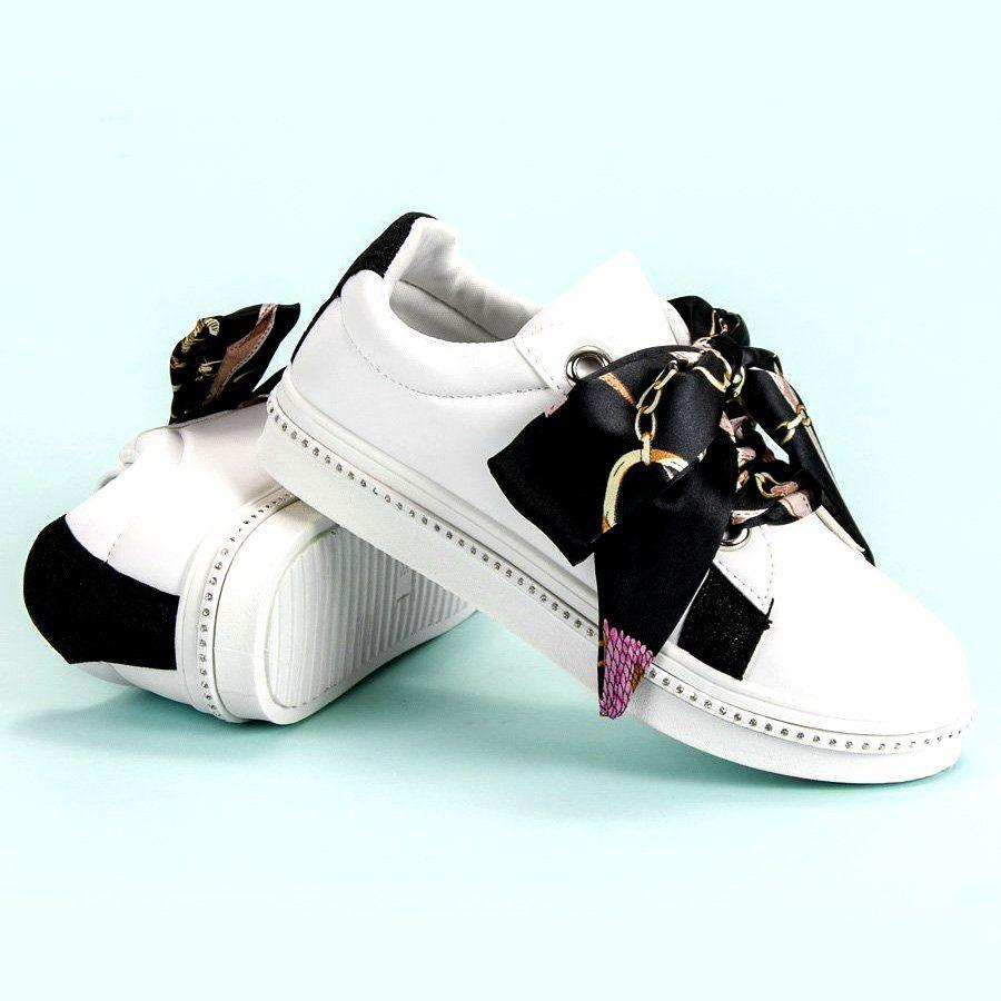Buty Sportowe Wiazane Wstazka Biale Sneakers Puma Sneaker Shoes