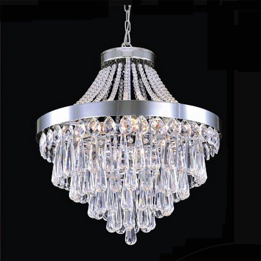 lustre pendente cristal 10 lampadas e 27 my 94119s h10. Black Bedroom Furniture Sets. Home Design Ideas