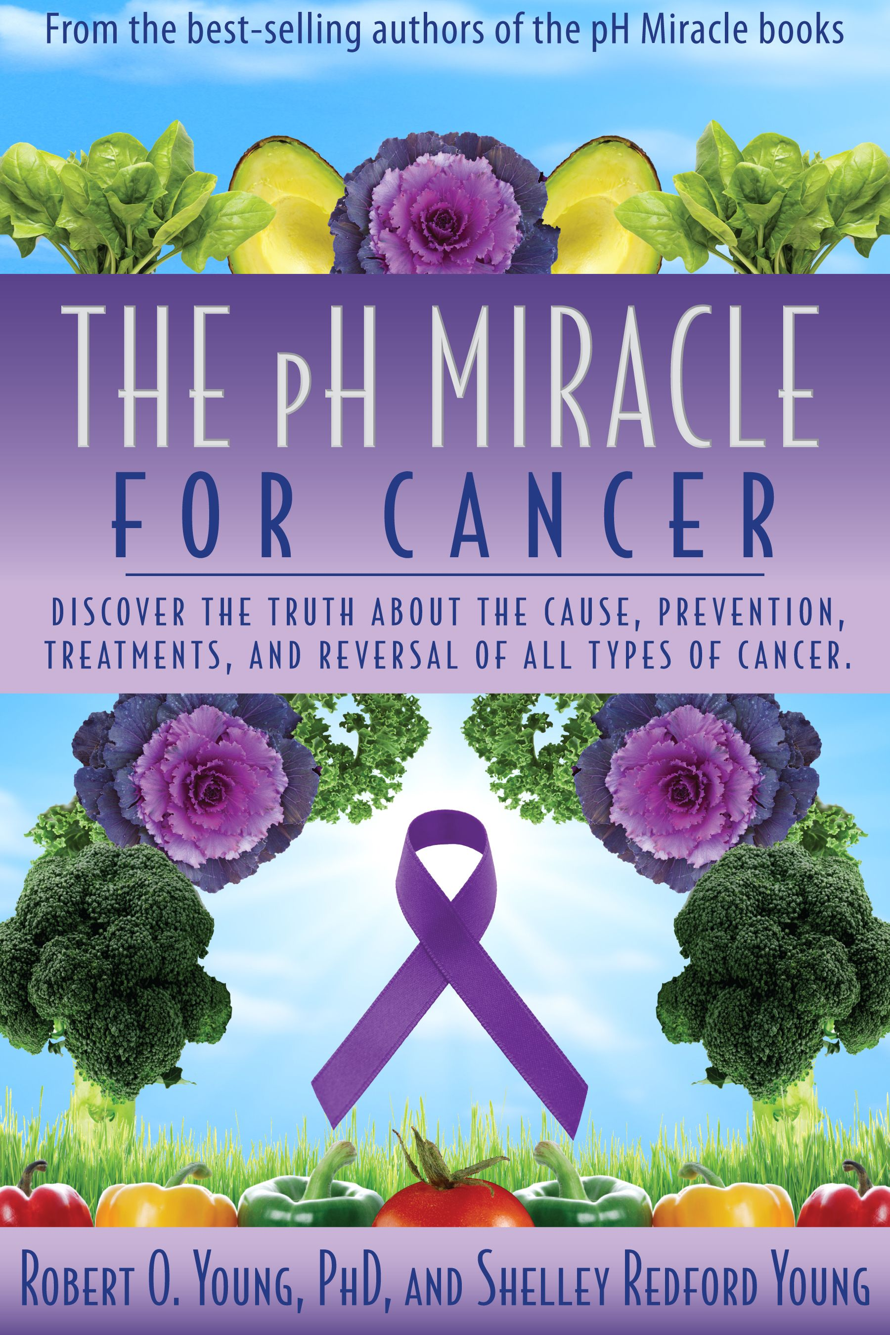 Women pH Miracle Book Cover | pH Miracle | Natural cancer