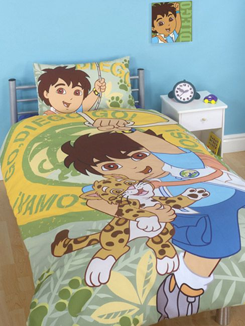 Diego Go, Diego, Go! Duvet Cover and Pillowcase Bedding ...