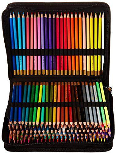 Holds 240 Pencil Bag Compatible with Prismacolor Colored Pencils,Watercolor Pencils,Faber Castell Colored Pencils,ARTEZA Colored Pencils Set-Flower Colored Pencils Large Pencil Storage Case