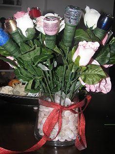 Cute Gift Idea Nail Polish Flower Bouquet