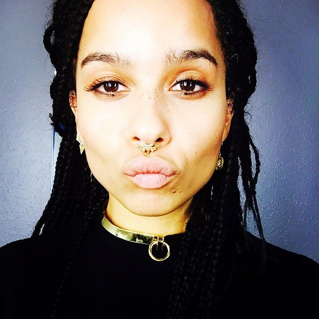 Zoe Kravitz Piercings: Zoë Kravitz @zoeisabellakravitz Instagram Photos