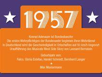 einladung zum 60. geburtstag: 1957 ereignisse | einladungskarten, Einladung