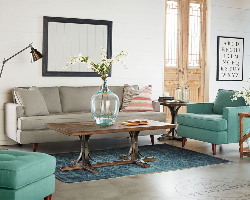 MCM Living Room - Magnolia Home   Decoration, Salon