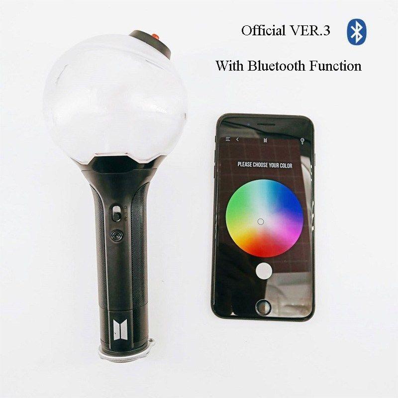 Bts Light Stick Army Bomb Ver 3 Em 2020 Bts Mini Bts Roupas