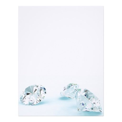 Diamonds-isolated-on-white1587 WHITE DIAMONDS LIGH Personalized Letterhead