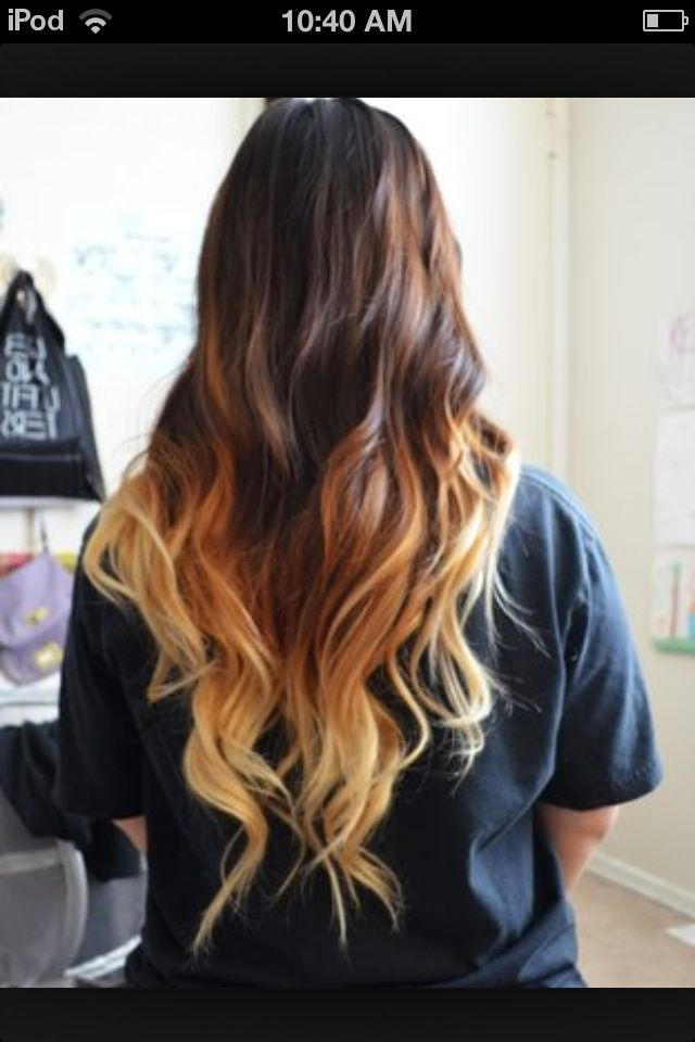 How To Do Ombre Hair With Hydrogen Peroxide Recipe Hair Styles Ombre Hair Allure Hair