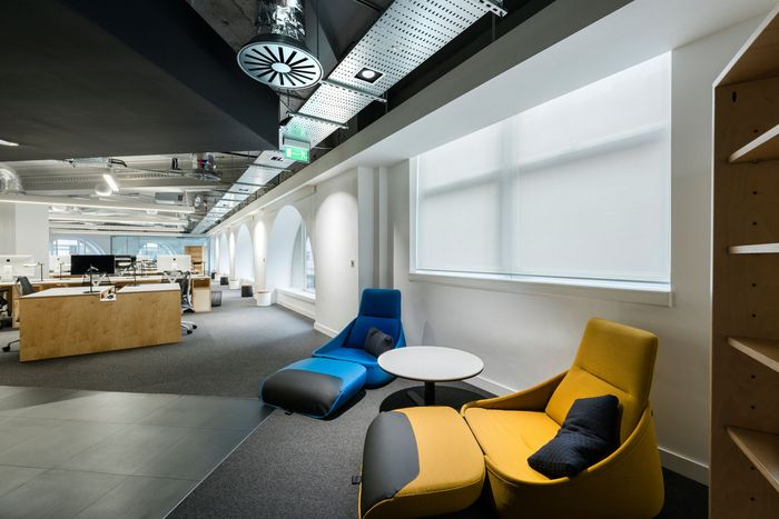 Coalesse Hosu Lounge Chairs Offer Employees In Wipro Digital Offices In  London A Getaway To Change