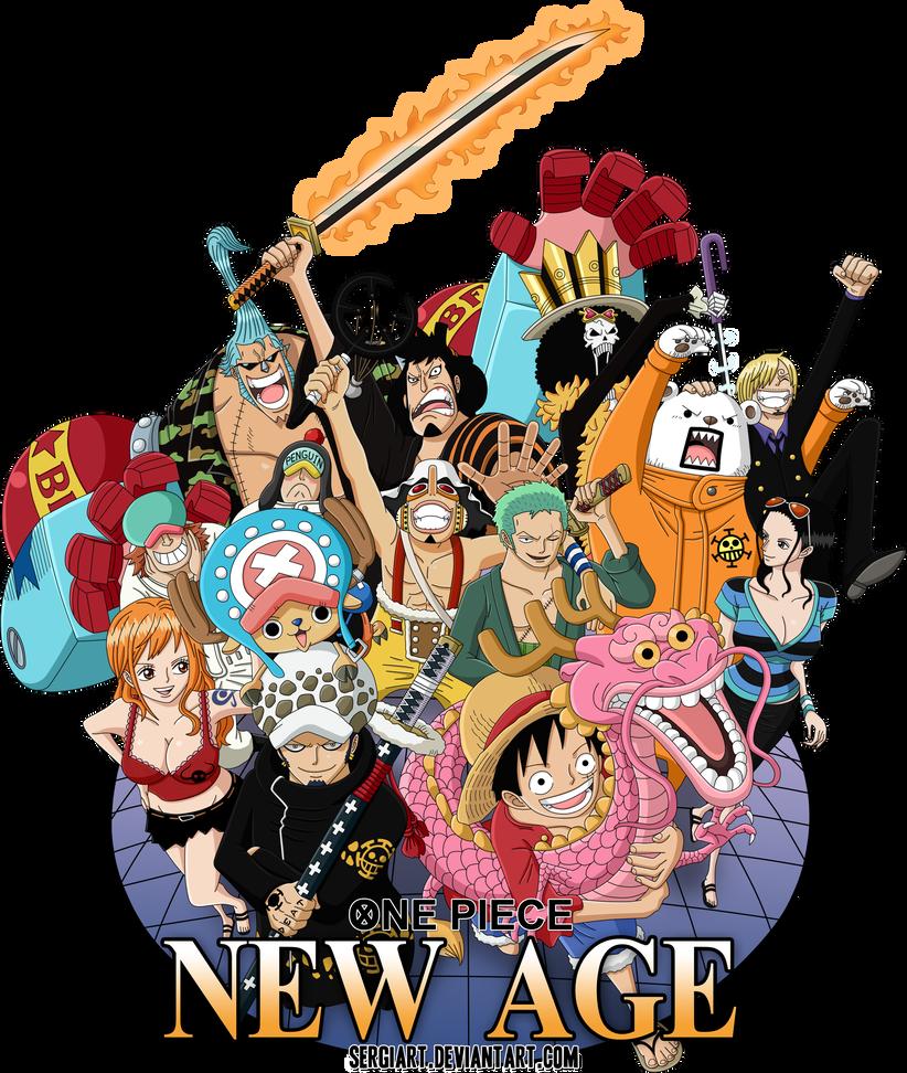 One Piece New Age By Sergiart One Piece Anime One Piece Manga One Piece