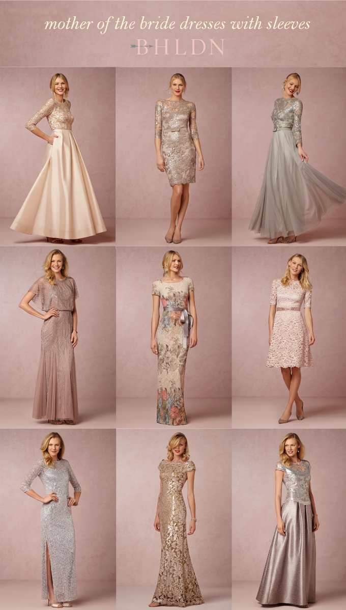 Mother of the Bride Dresses with Sleeves | Pinterest | Boda ...