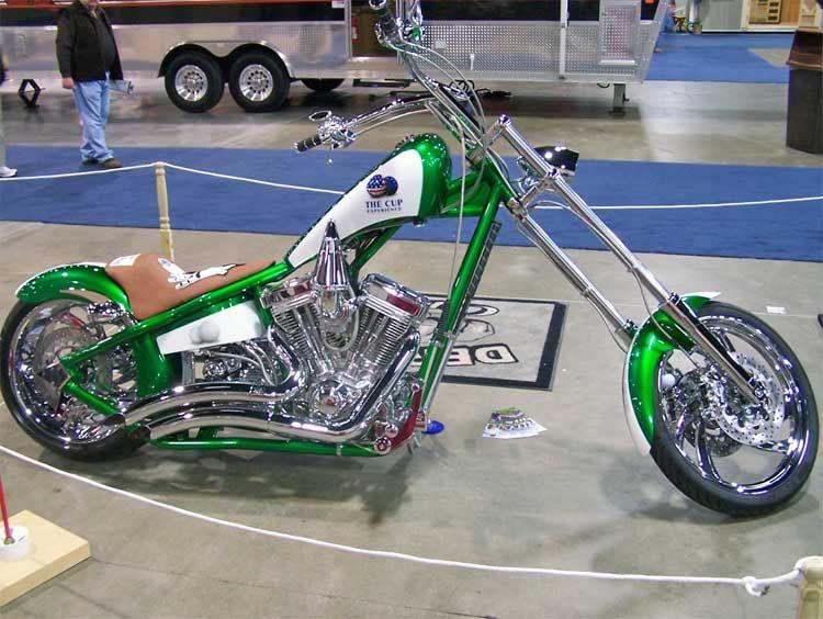 Custom Motorcycle Builders: Custom Air Cleaners For