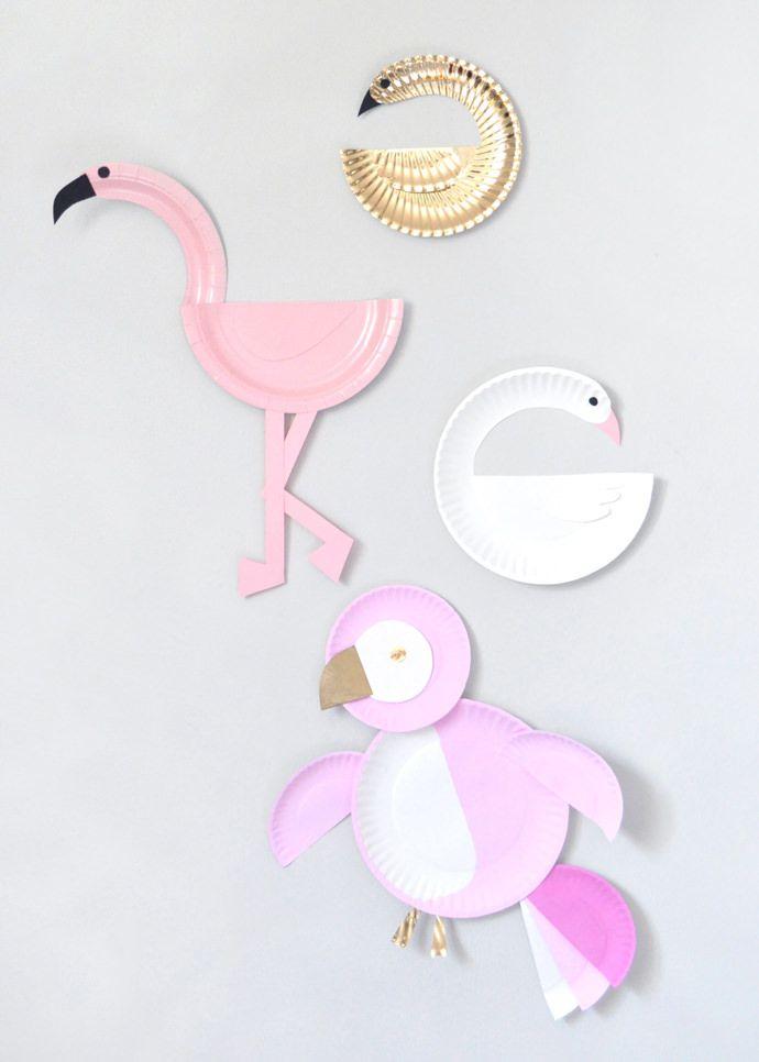 Paper Plate Birds   Handmade Charlotte