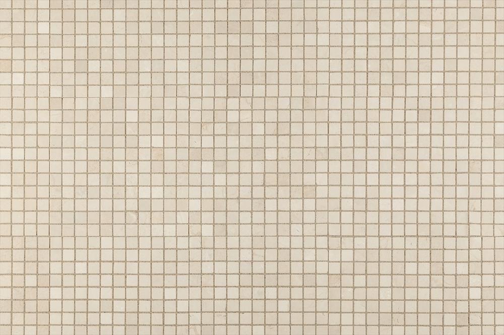 BuildDirect – Mosaic Tile - Crema Marfil Marble Series – Crema Marfil Tumbled - Multi View