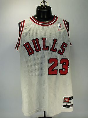 new arrival 59007 60a4b NIKE FLIGHT 8403 MICHAEL JORDAN 1984 WHITE NBA CHICAGO BULLS ...