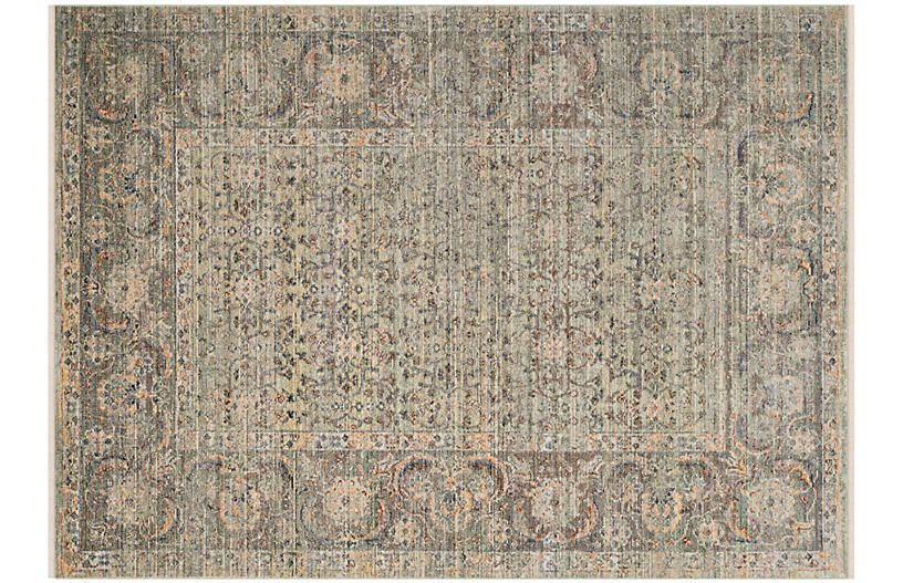 Junewood Rug Sage 6 X9 Rugs Traditional Design Rug Making