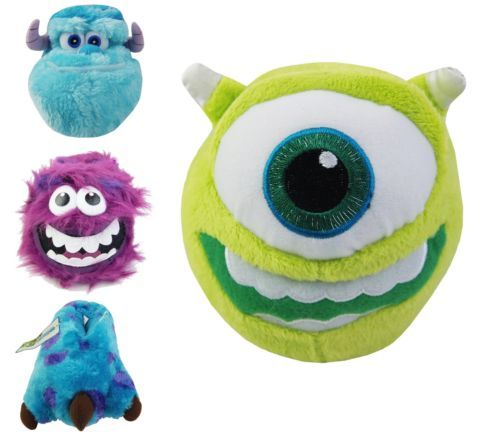 14d54555f15 Childrens Girls Boys Official Monsters INC Novelty Disney Funny Shoes  Slippers