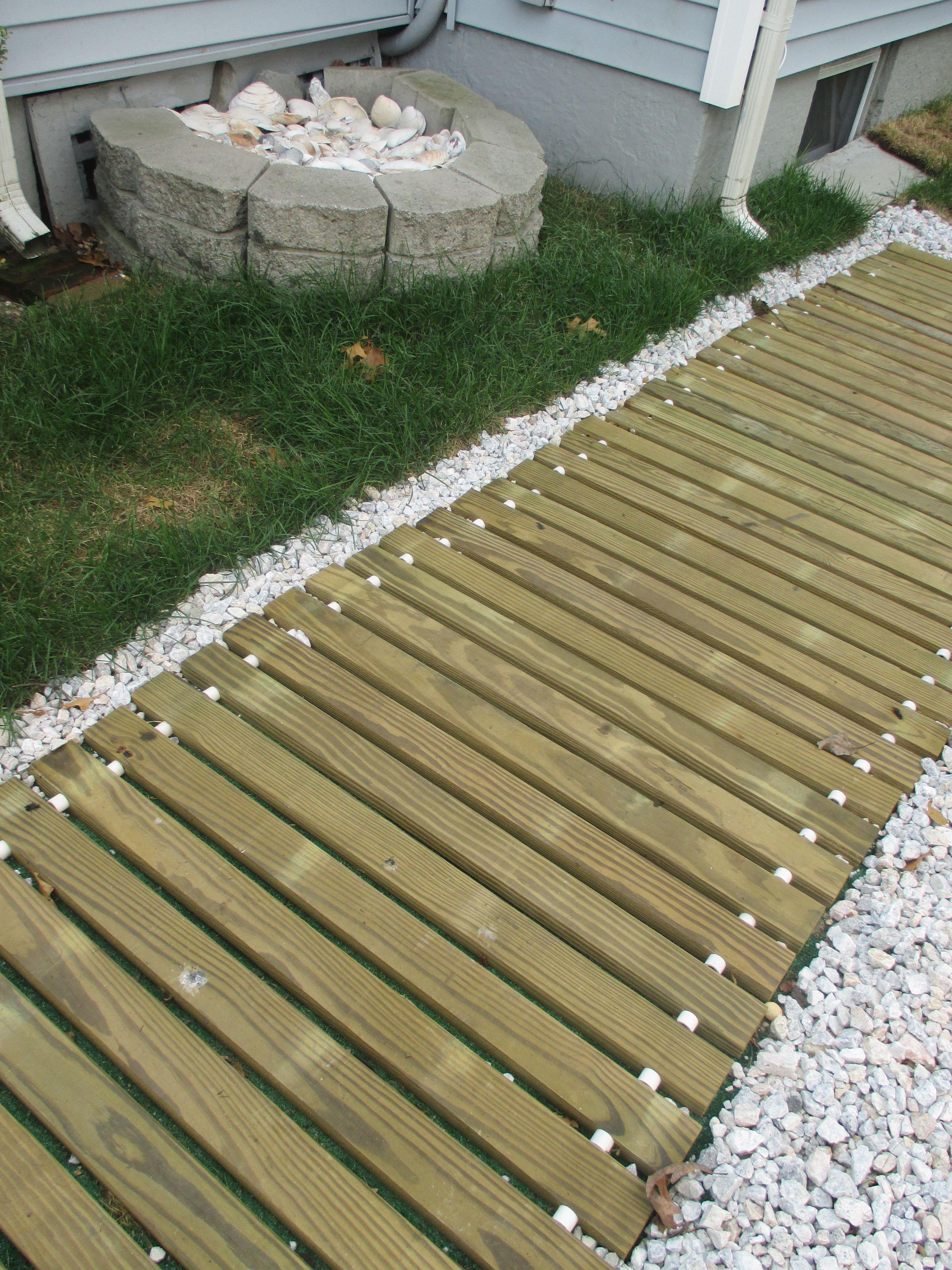 Ground Level Deck Decor