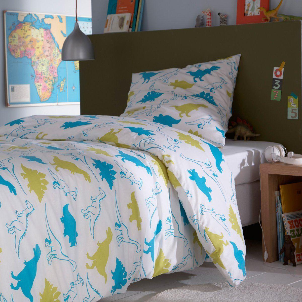 conjunto capa de edredon fronha puro algod o pr histo la redoute interieurs la redoute. Black Bedroom Furniture Sets. Home Design Ideas