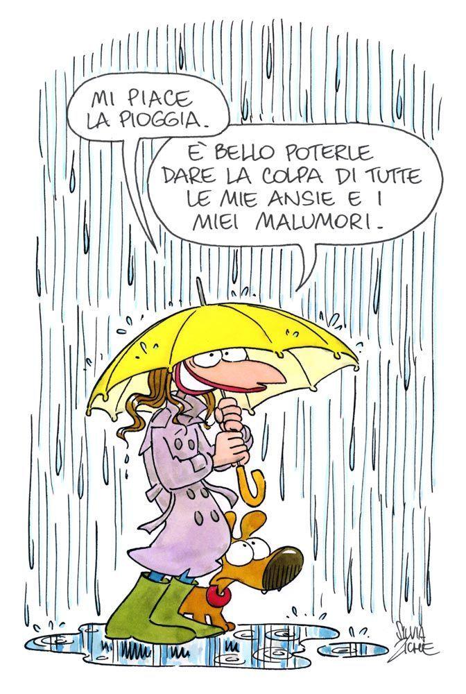 Aforisma E Citazioni Sulla Pioggia In Vignette Aforismi