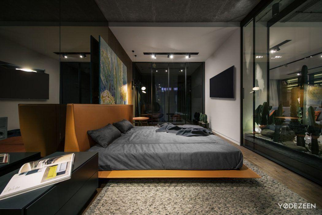 Desert Loft In Kiev By YoDezeen Interior Pinterest Lofts Fascinating 1 Bedroom Loft Minimalist Collection