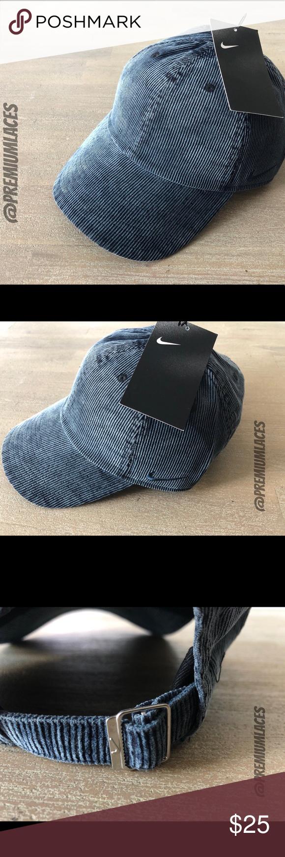 Nike Heritage 86 Corduroy Strapback Hat Unisex Nike Accessories Strapback Hats Unisex