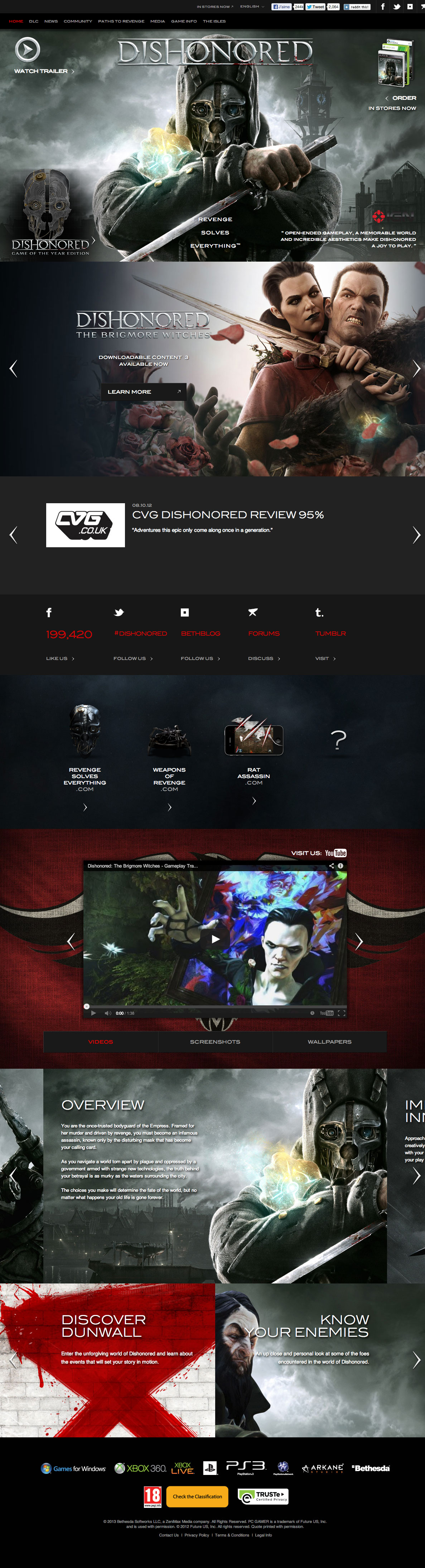 http://www.dishonored.com/