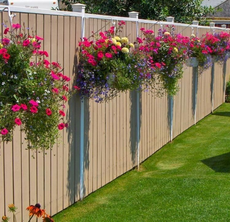 45 stunning fence ideas easy to apply to make sure your on backyard garden fence decor ideas id=71881