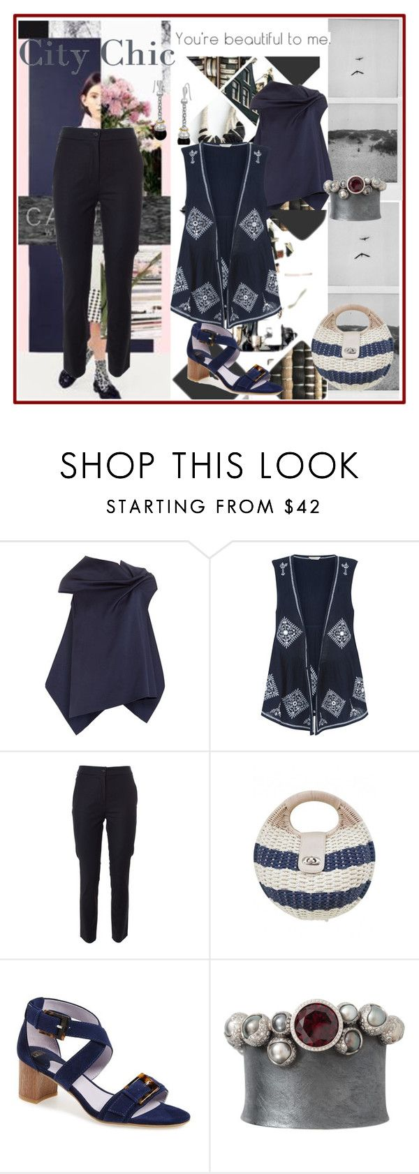 """""""city chic"""" by peeweevaaz ❤ liked on Polyvore featuring Roland Mouret, Monsoon, Moschino, Johnston & Murphy, Todd Reed, outfit, polyvoreeditorial and polyvorefashion"""