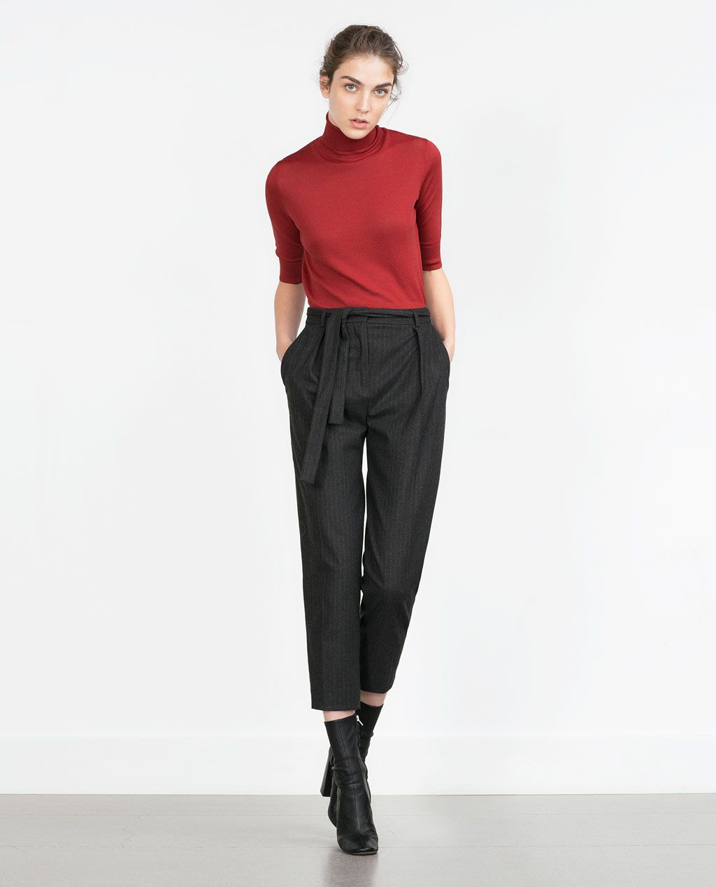 CROPPED SWEATER-View all-Woman-NEW IN | ZARA United States | What ...