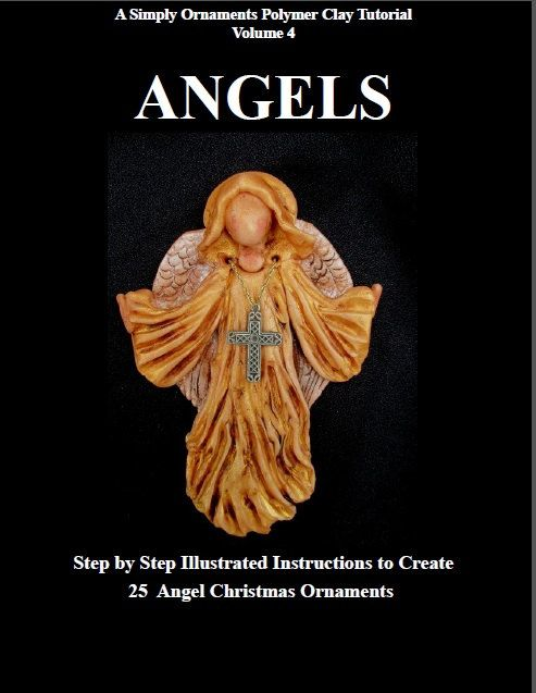 Polymer Clay Tutorial. ANGELS  Learn how to by Simplyornaments
