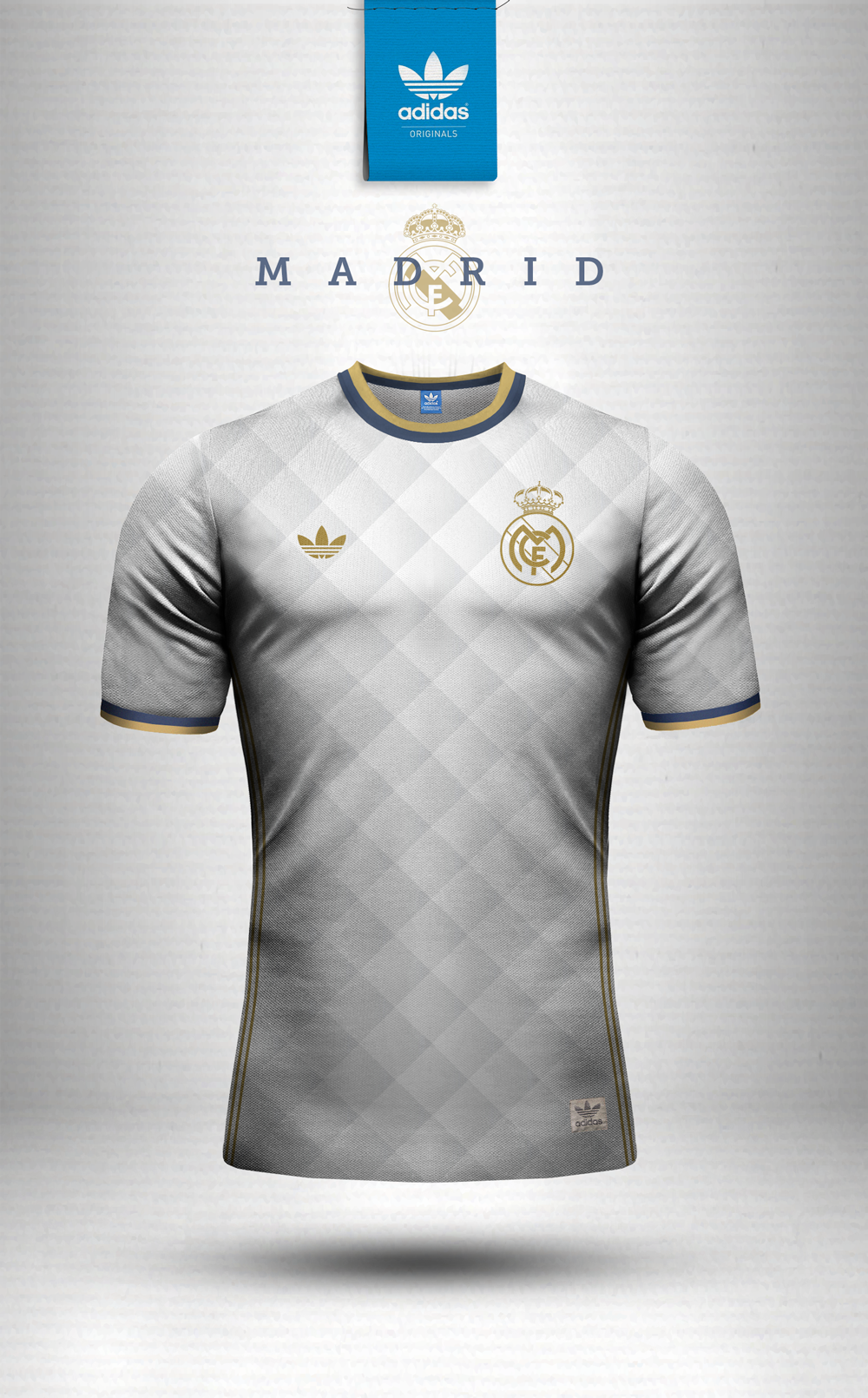 Pin by Joel Marsh on Brand Identity | Soccer shirts, Real